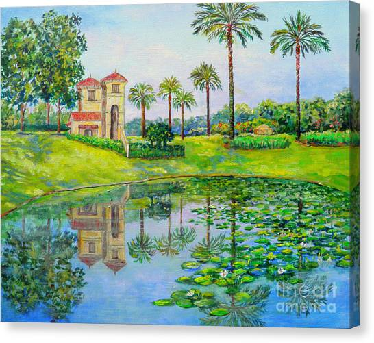 Tuscana Reflection Canvas Print