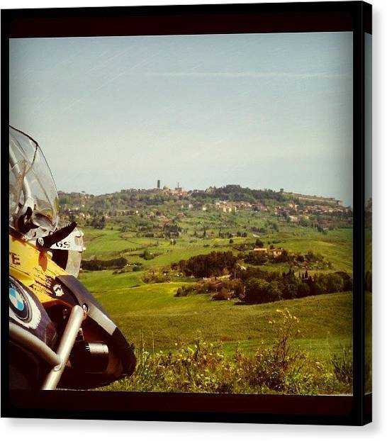 Falcons Canvas Print - Tuscany by Carles Falcon