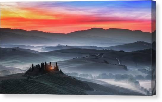 Tuscany Canvas Print by Joaquin Guerola