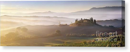 World Heritage Site Canvas Print - Tuscany by Rod McLean