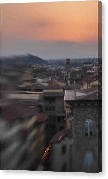 Tuscany Sunset Canvas Print