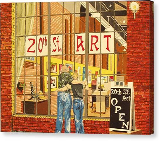 Twentieth Street Gallery Lavender Heights Version Canvas Print by Paul Guyer