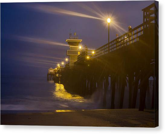 Twilight At Seal Canvas Print