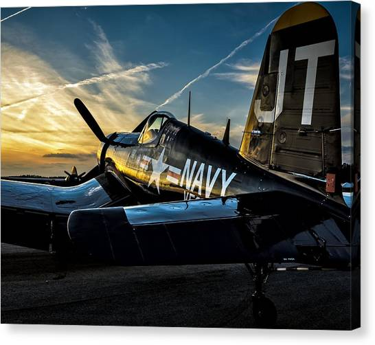 Twilight Corsair Canvas Print