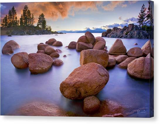 Ansel Adams Canvas Print - Twilight Cove - Craigbill.com - Open Edition by Craig Bill