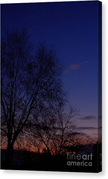 Twilight Crack Of Dawn Canvas Print