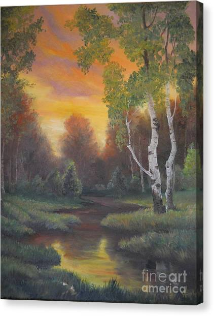 Twilight Fall  Canvas Print