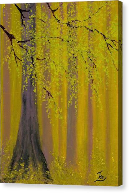 Twilight Forest 1 Canvas Print