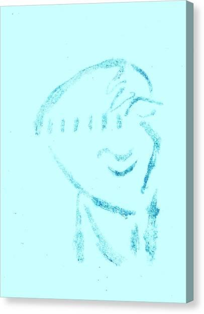 Simplistic Canvas Print - Twilight Last Gleaming by John Deeter