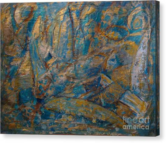 Twilight Sails Canvas Print