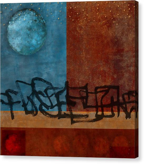 Walk Canvas Print - Twilight Walk by Carol Leigh