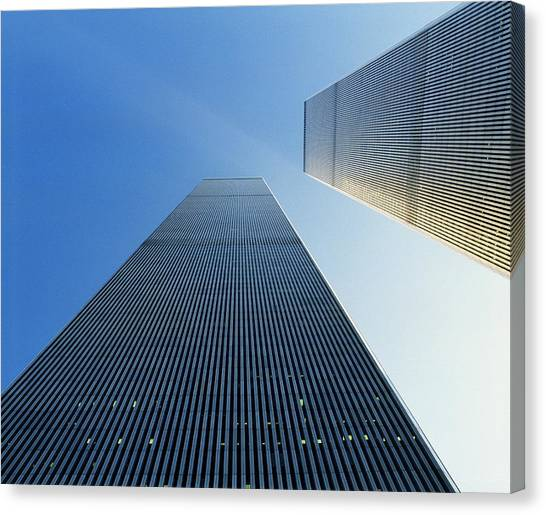 Etc Canvas Print - Twin Towers by Jon Neidert