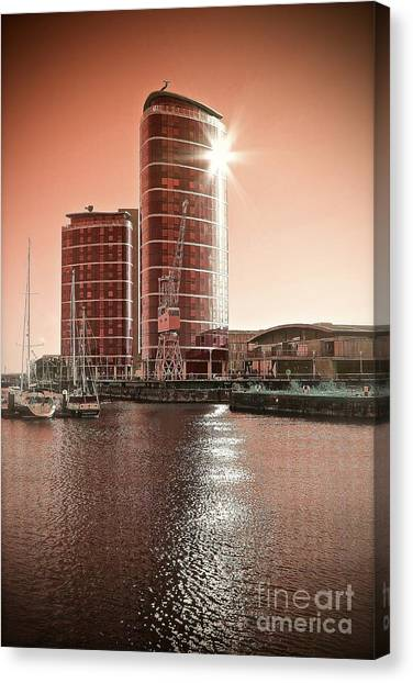 Twin Towers Canvas Print by Paul Muscat