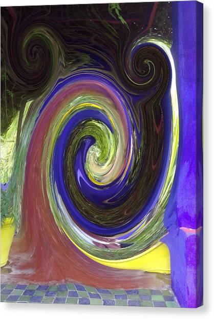 Twirl Canvas Print by Soumya Bouchachi