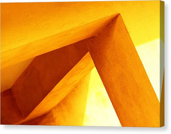 Twisted Geometry  Canvas Print