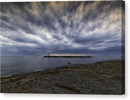 Twisted Sky Canvas Print by Kris Rowlands