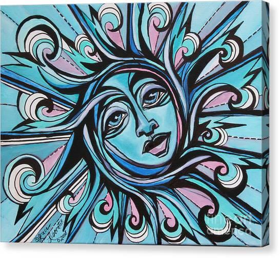 Twisted - Sun  Canvas Print