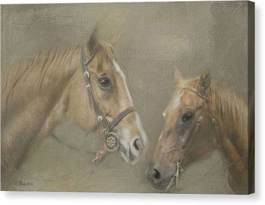 Two Amigos Canvas Print