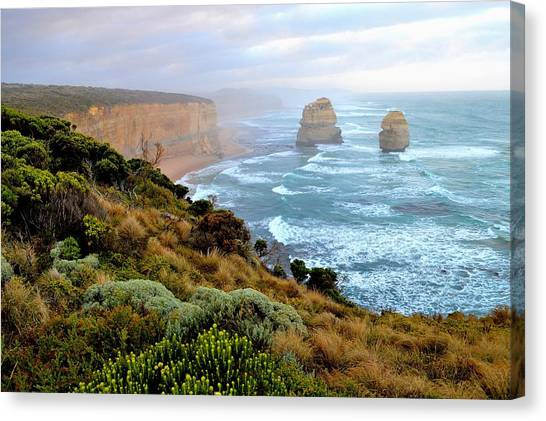 Two Apostles - Great Ocean Road - Australia Canvas Print
