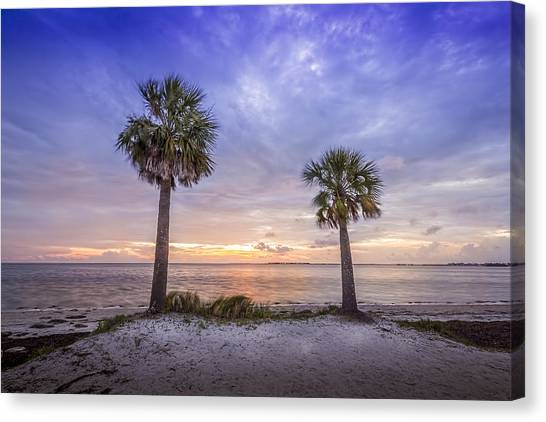 Hurricanes Canvas Print - Two Are Better Than One by Marvin Spates