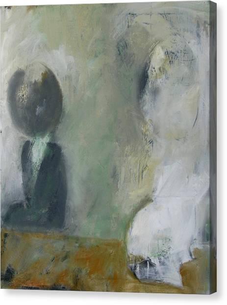 Two Children Canvas Print