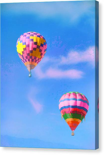 I Think I Might Fly Away Canvas Print
