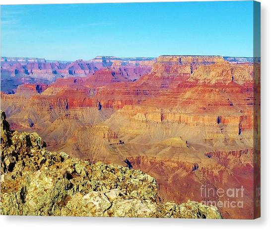 Two One Hundred Eighty Seven Canvas Print by Debbie L Foreman
