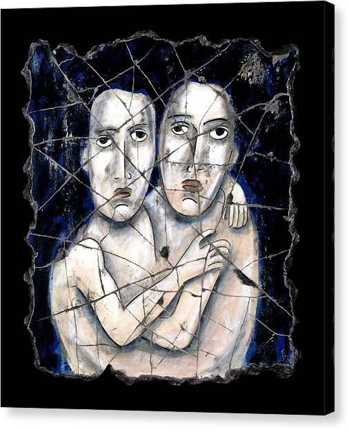 Bogdanoff Canvas Print - Two Souls by Steve Bogdanoff