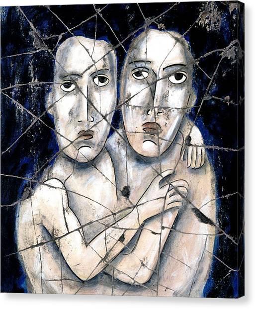 Bogdanoff Canvas Print - Two Souls - Study No. 2 by Steve Bogdanoff