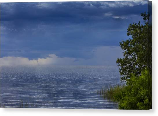 Tornadoes Canvas Print - Twisting Water by Marvin Spates