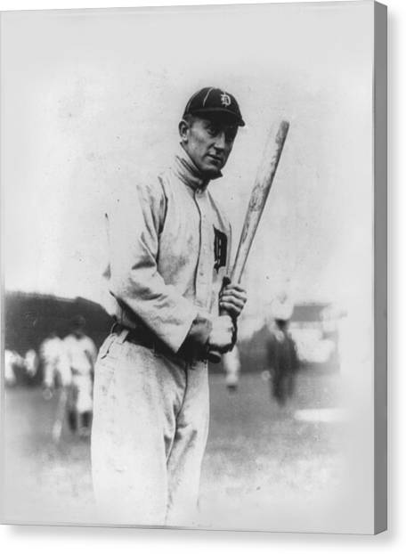 Ty Cobb Canvas Print - Ty Cobb by Unknown