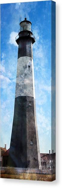 Tybee Island Light Canvas Print