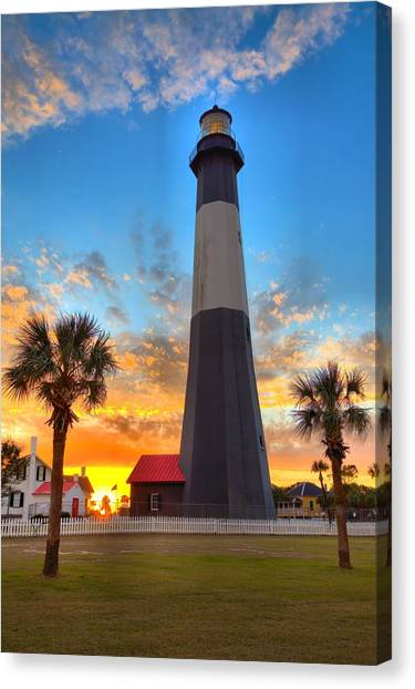 Tybee Island Sunrise Canvas Print