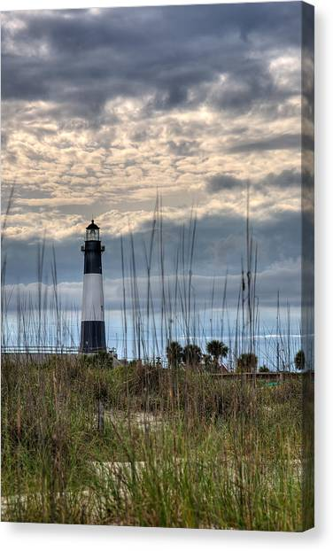 Tybee Light Canvas Print