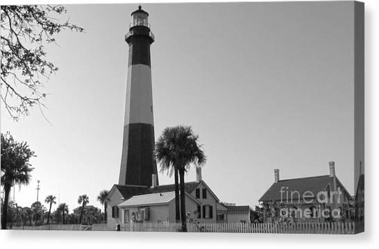 Tybee Lighthouse 1 Canvas Print