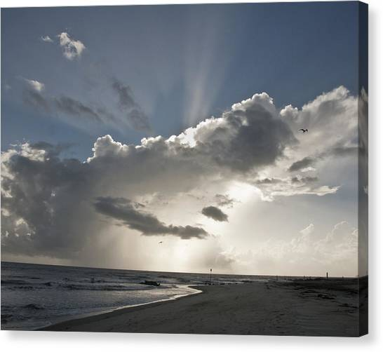 Tybee Sunrise Canvas Print