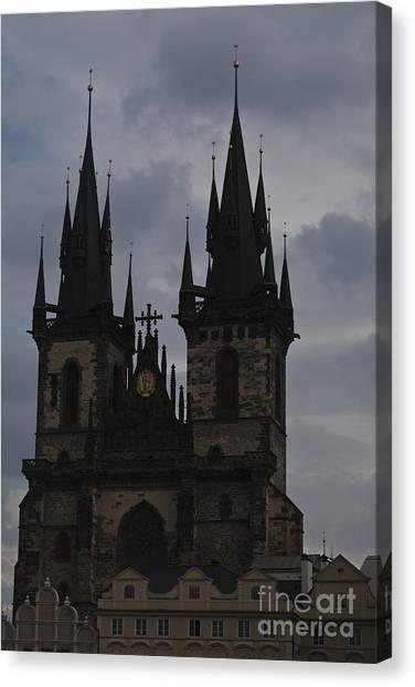 Tyn Curch Prague Canvas Print