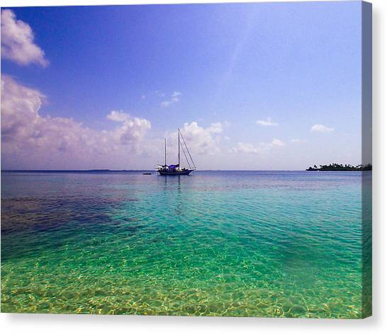 Typical Caribbean Canvas Print
