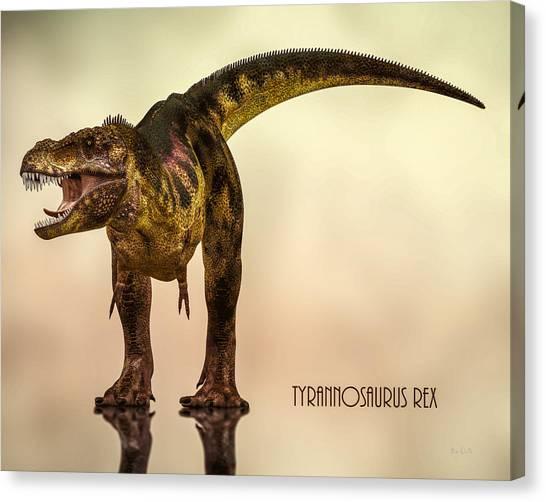 Carnivore Canvas Print - Tyrannosaurus Rex Dinosaur  by Bob Orsillo