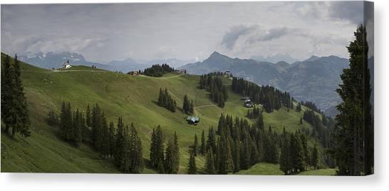Tyrolean Panorama Canvas Print by Nigel Jones