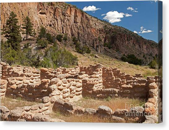 Tyuonyi Bandelier National Monument Canvas Print