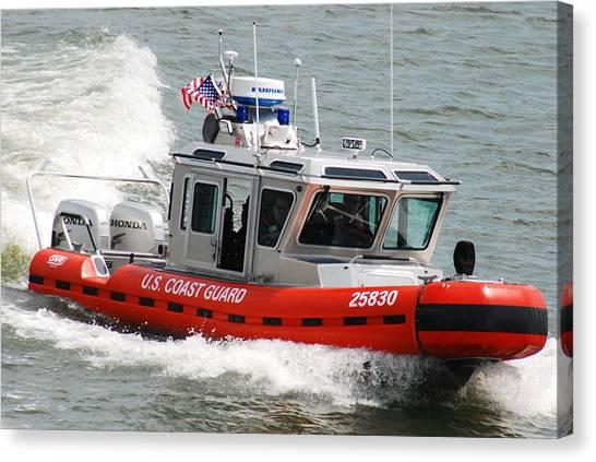 U. S. Coast Guard - Speed Canvas Print