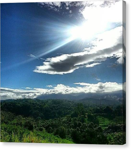 U2 Canvas Print - #u2  It's A Beautiful Day  Sky by Tania Torres