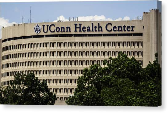 University Of Connecticut Uconn Health Center Canvas Print