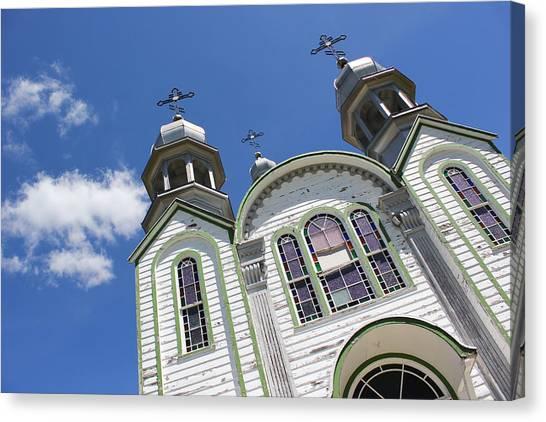 Ukrainian Orthodox Church - Wroxton Canvas Print