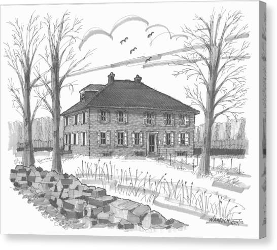 Ulster County Museum Canvas Print
