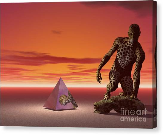 Ultimatum - Surrealism Canvas Print