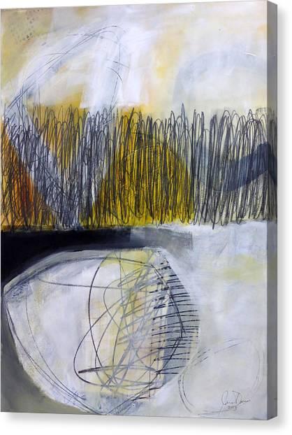 Fat Canvas Print - Un -earth 1 by Jane Davies