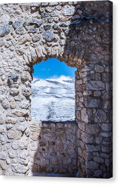 A Window On The World Canvas Print