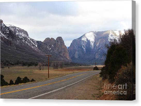 Unaweep Tabeguache Scenic Byway Canvas Print